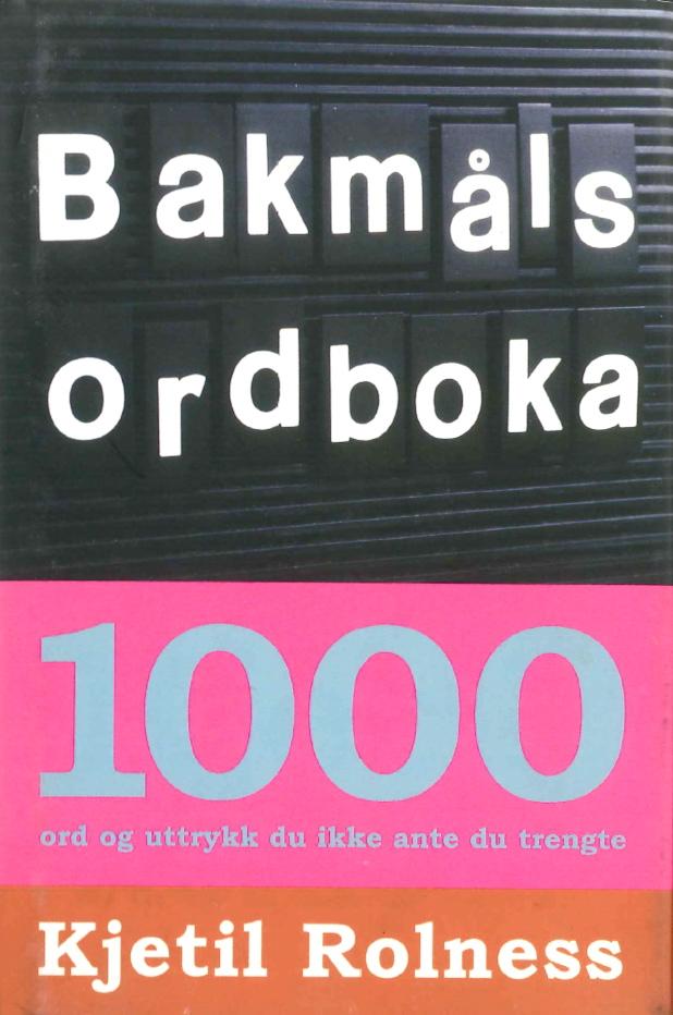 Bakmål-bokomslag