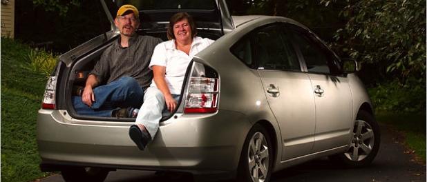 Par i Toyota Prius 2